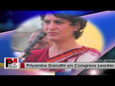Charming and charismatic Priyanka Gandhi Vadra– progressive Congress leader