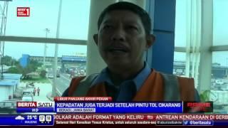 Contra Flow Diberlakukan di Sejumlah Ruas Tol Jakarta-Cikampek