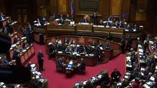 Italy Senate Approves Same-$ex Civil Unions News Video