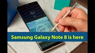Samsung Galaxy Note 8 is here- A few interesting features