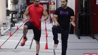 How to- Perform HIGH KNEES for FAT LOSS! (Hindi / Punjabi)