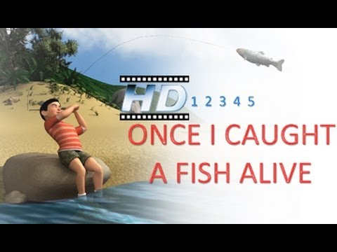 12345 Once - Caught A Fish Alive - 3D Animation - Nursery Rhyme - For Kids