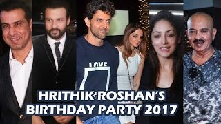 Hrithik Roshan's GRAND BIRTHDAY Party 2017 - Full Video HD - Yami Gautam, Sussanne Khan, Ronit Roy