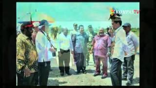 Jokowi Tahun Baruan di Raja Ampat