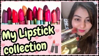 My Lipstick Collection - Top Lipsticks For Indian (Asian) Skin Tone | JSuper Kaur
