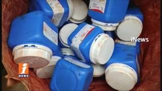 Police Arrests Fake Tea Powder Manufacturing Gang in Eluru | West Godavari | iNews