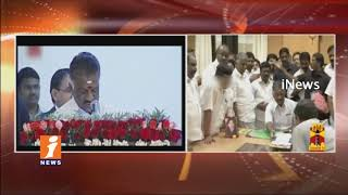 Panneerselvam Takes Oath As Deputy CM Of Tamilnadu After Merge of EPS and OPS | iNews