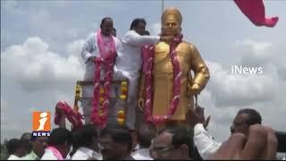 Minister Nayani Narasimha Reddy Lay Foundation Stone For Development Works In Wanaparthy   iNews