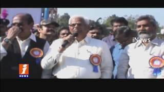 Singareni Formation Day Celebrations in Godavarikhani | iNews