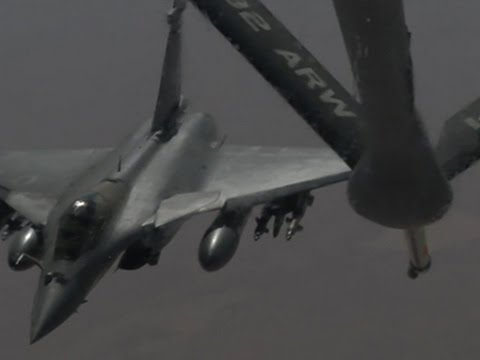 Only on AP- US Tankers Refuel for IS Fight News Video