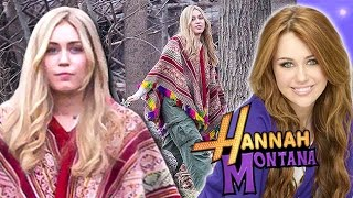 Miley Cyrus Goes Back To 'Hannah Montana' Days