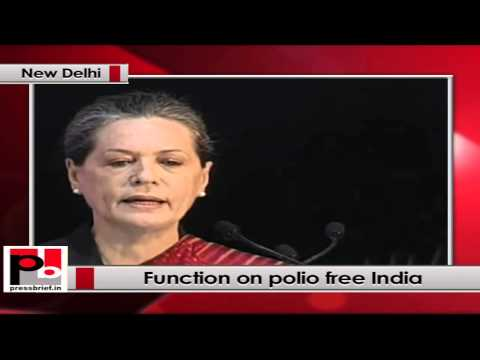 Sonia Gandhi- This massive immunization programme required a high degree of coordination
