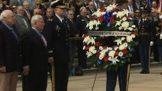 Heroes Honored at Arlington National Cemetery News Video