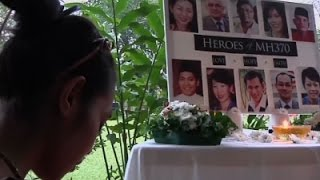 Raw: MH370 Anniversary Brings Tears and Prayers