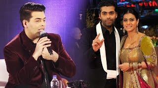 Karan Johar REACTS To His FIGHT With Kajol - Relationship END