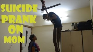 Mom i Failed in 12th - Suicide Prank | Tango tube