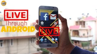 How to Live Stream On Youtube Through Your Android Mobile