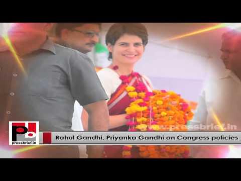 Progressive and energetic Congress leaders - Young Rahul Gandhi and Priyanka Gandhi