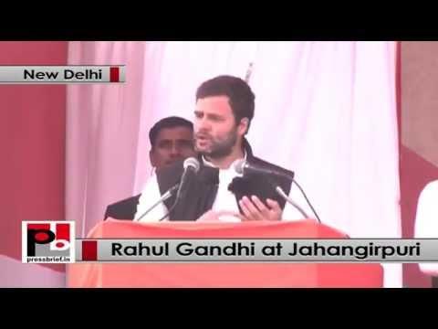 Delhi polls- I asked Jayanthi Natarajan to save environment, Adivasis, says Rahul Gandhi