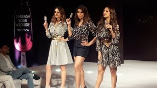 Malaika, Bipasha, Sussanne WALKS The Ramp At MagnumX The Label Life Collection Launch