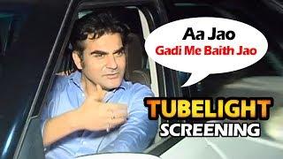 Arbaaz Khan's SWEET Gesture Towards Media At Salman's Tubelight Screening