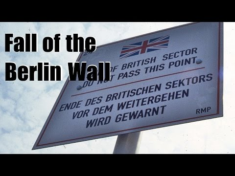 Fall of the Berlin Wall - 25th anniversary - Google Doodle
