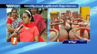 Womens Fires On Govt Over LPG Cylinder Price Hiked And Eliminate Subsidies | Ground Report | iNews