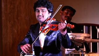 'Kanne Kalaimane' Abhijith P S Nair on Violin Live With His fusion Band(Ilayaraja Violin Cover)