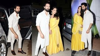 Shahid Kapoor With Wife Mira At Mandana Karimi‏'s Wedding Bash