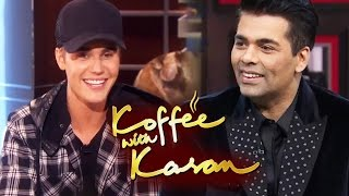 Justin Bieber On Karan Johar's Koffee With Karan Season 6