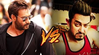 Ajay Devgn Vs Aamir Khan | Golmaal Again & Secret Superstar | Diwali 2017 CLASH