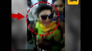 Rakhi Sawant screams outside Ludhiana court