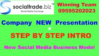 Socialtrade.biz Business Plan & New Presentation, 'social trade' scam Review CL- 09595202023