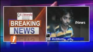 Brats Harassments On Women | Brats Attacks On SI In Marriguda | Nalgonda | iNews