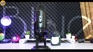 Blue Yeti Blackout Edition Unboxing l Audio Sample l How to use it with Premiere !