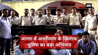 Agra-35 shopkeepers held with pornographic contents