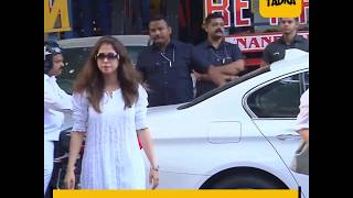Bachchans, Kapoor's and other Bollywood celebs attend Rani Mukerji's father prayer meet