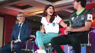 Delhi Dynamos F.C. Kit Launch BTS with Jacqueline Fernandez