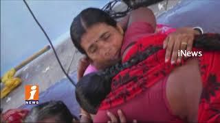 TRS MP Kavitha Pays Homage To Chukka Sathya In Manikyapuram | Jangaon | iNews