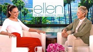 'Wonder Woman' (Gal Gadot) On The Ellen DeGeneres Show  | Batman Vs Superman | Lehren Hollywood