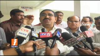 Minister Narayana Gives Clarity on Rain Water Leakage In AP Minister Chambers | Amaravati | iNews