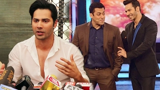 I'm Too Young To Be Compared With Salman Khan, Says Varun Dhawan
