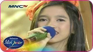 ABBY - MATAHARIKU (Agnes Monica) - Spektakuler Show 8 - Indonesian Idol Junior