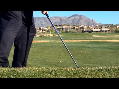 How to Hit on a Downhill Lie : - A Better Golf Swing