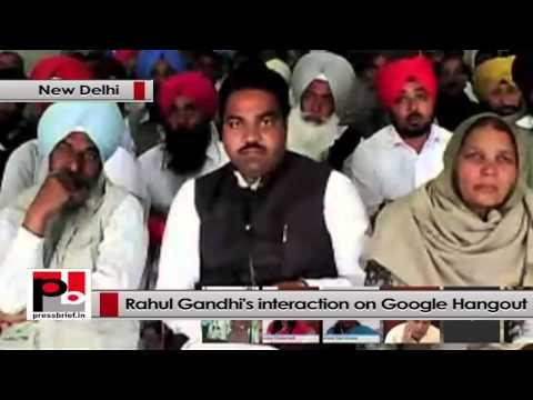 Rahul Gandhi- We need to change the system