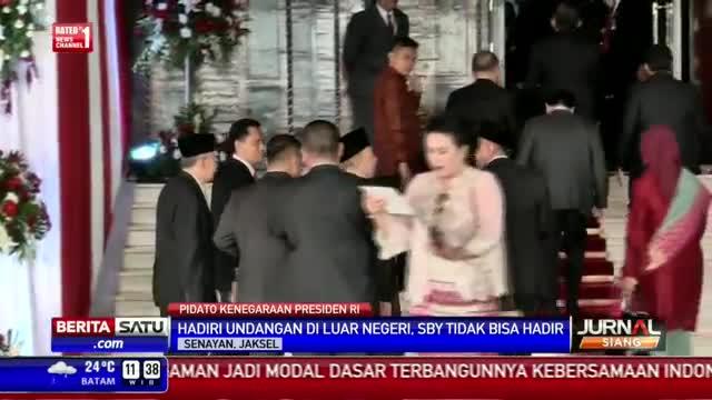 Penuhi Undangan di Luar Negeri, SBY Absen Sidang Paripurna