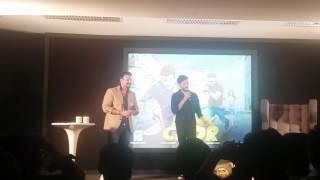 Riteish Deshmukh Roasted Vivek Oberoi At Bank Chor Song Launch