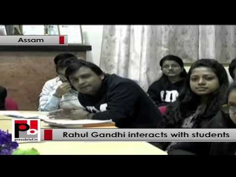Rahul Gandhi- We have to focus on education system of the country