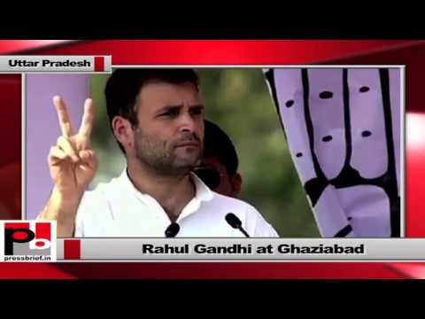 Rahul Gandhi -Congress has been running a government of poor for the last ten years