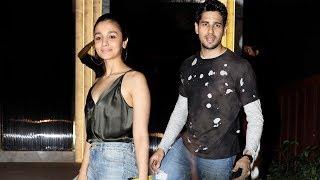 Sidharth Malhotra & Alia Bhatt Together At Gauri Khan's Restaurant Launch